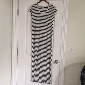 ZARA striped t shirt dress